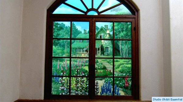 Museo ghibli il museo - La finestra sul giardino ...