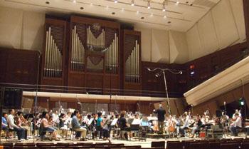 Colonna Sonora di Ponyo registrata alla 'Sumida Triphony Hall'